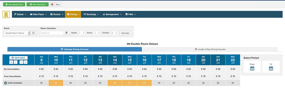 Calendario Prenotazioni Hotel Excel.Hotel Booking E Channel Manager Cit Consult